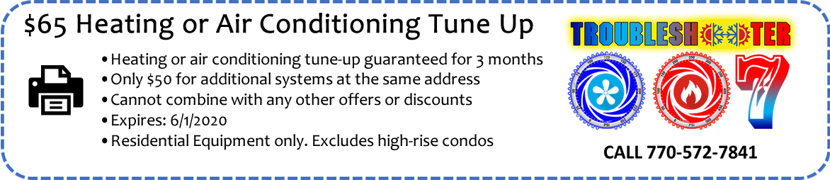 $70 Heating or Air Conditioning Tune-Up